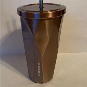 Starbucks 2012 copper stainles steel tumbler